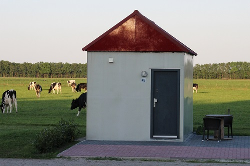 Onze tiny cottage